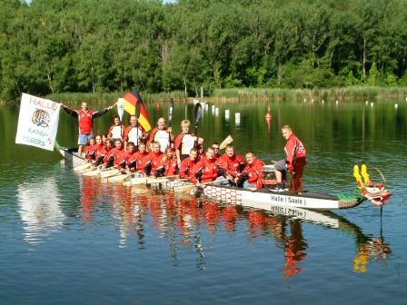 HKC-Kanuten zu Masters- und Drachenboot-WM