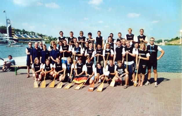 Sommerferien 2006 hieß für 99 % aller Schüler Baden, Abhängen und Party machen.