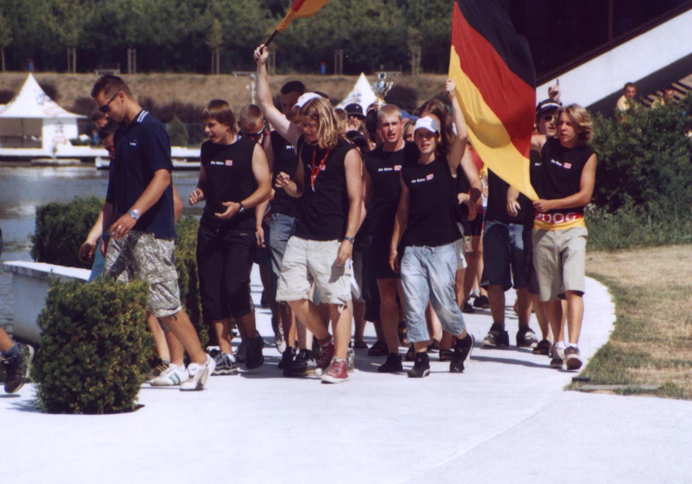 EM Poznan06 2.Platz 500m Siegerehrung Einmarsch1