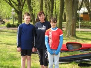 Alexander Schatz, Birgit Fischer, Jasmin Fritz