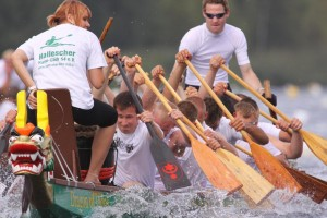 Hallesches Drachenbootrennen 2009