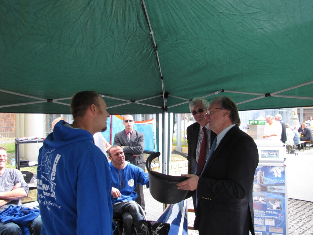 BG Klink Tour 2012 mit Ministerpräsident Dr. Haselhoff