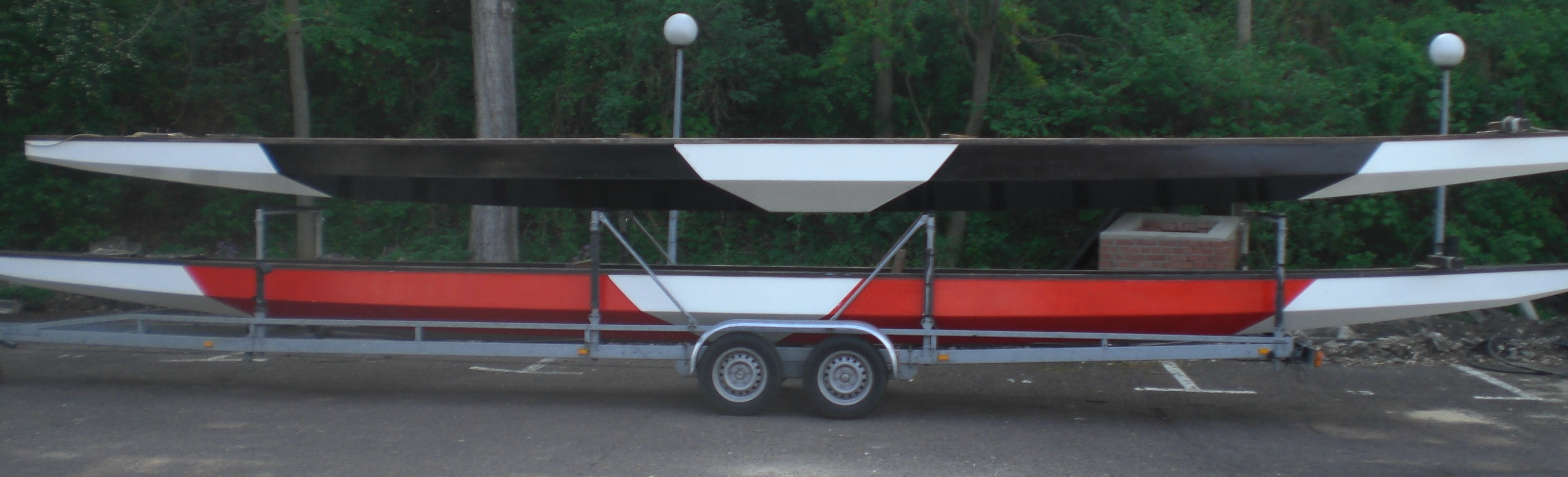 Drachenboote zum beschriften