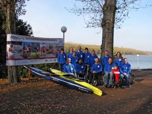 Abteilung Behindertensport/Parakanu 2012