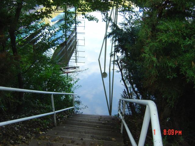 Blick von Clubhaus zum See