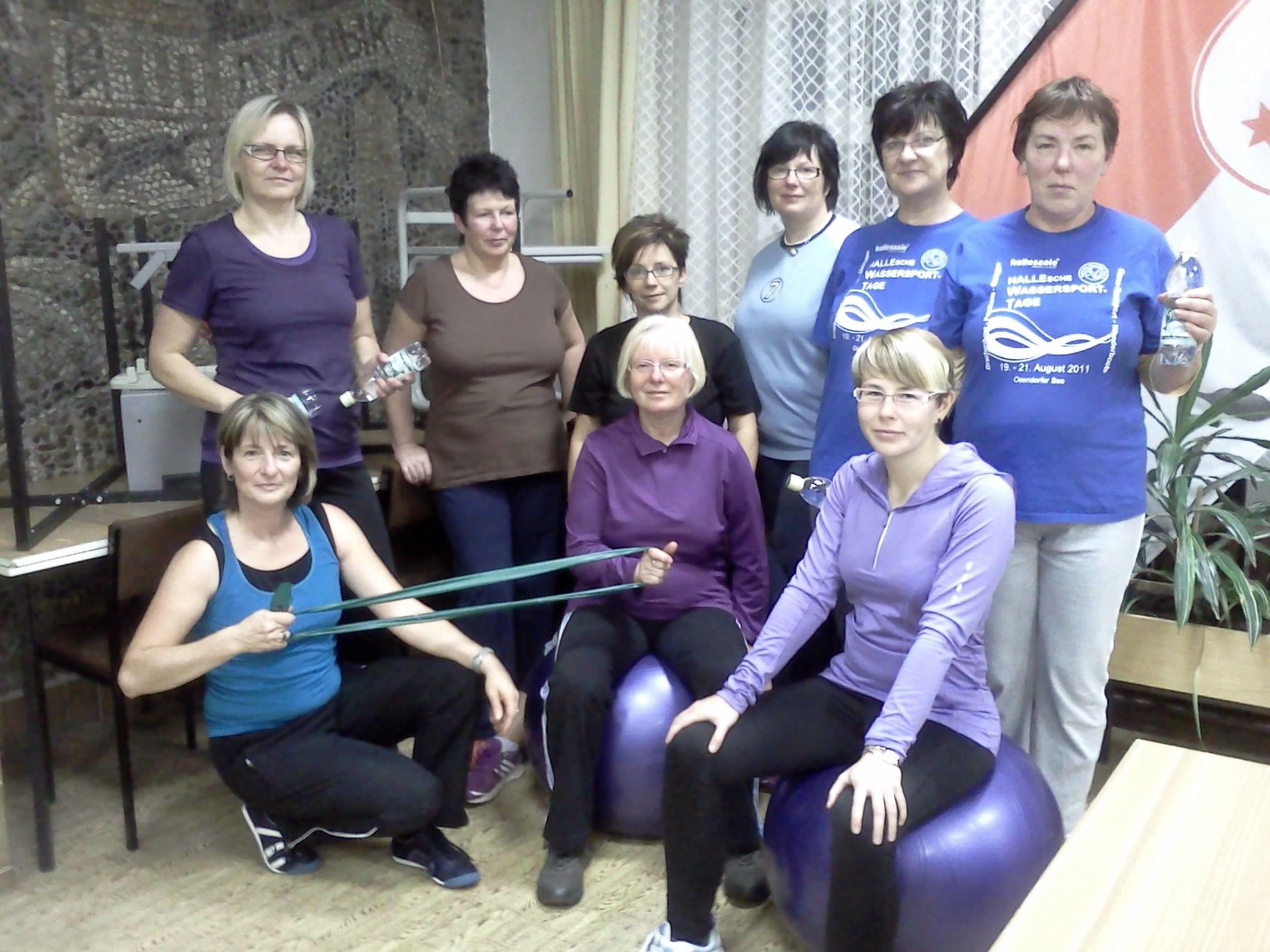 Frauen und Gesundheitssportgruppe