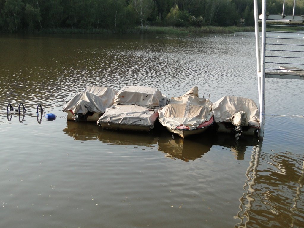 unsere Motorboote