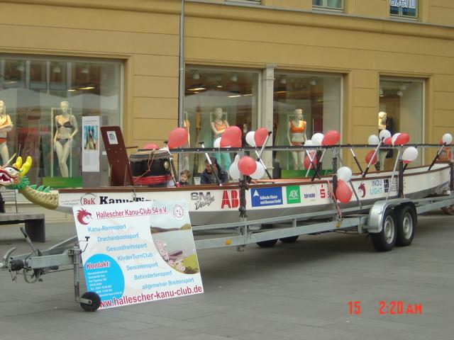 Präsentation Markt in Halle