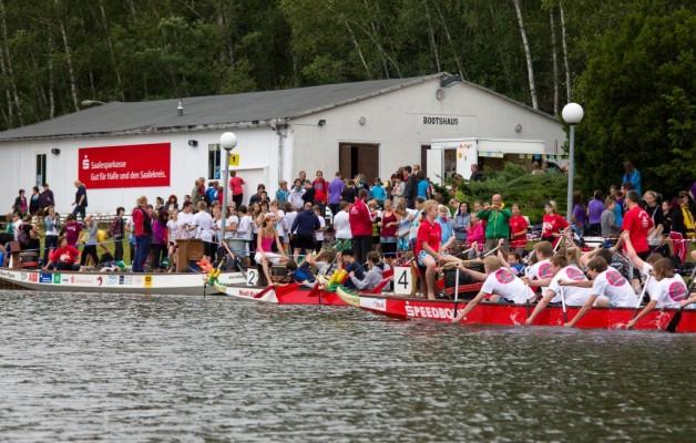 Anmelderekord Sparkassencup der Schulen im Drachenboot 2013