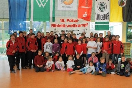 Athletiktest in Sandersdorf