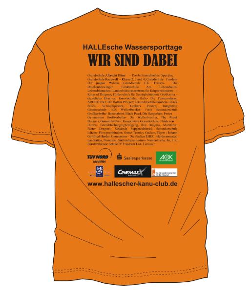 Tshirt Sparkassencup 2013 rücken