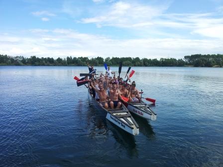 Wassersportkurs für Sportstudenten der MLU Halle im Sommer 2013
