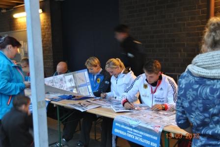 DM KÖLN 2013 autogrammstunde Nationalteam (1)