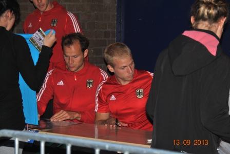 DM KÖLN 2013 autogrammstunde Nationalteam (2)