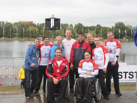 Erfolgreiche deutsche Kanu-Rennsportmeisterschaft für Osendorfer Kanuten
