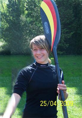 Jasmin Fritz aus Bruckdorf ist ERSTE bei der DKV Juniorinnen Qualifikation