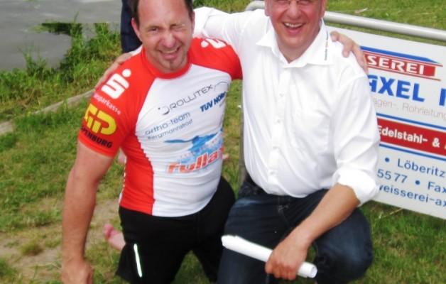 Hallescher Kanu-Club 54 stellt mit Ivo Kilian, in der paralympischen Parakanu Disziplin V1 TA Männer, den deutschen Starter für die Heim-EM in Brandenburg und WM in Moskau 2014