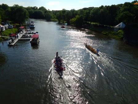 Einladung zum 16. Halleschen Drachenbootrennen auf der Saale am 30.05.2015