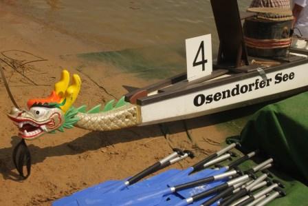 14. Sparkassencup der Stadt Halle im Drachenboot mit Rekordteilnehmerzahl