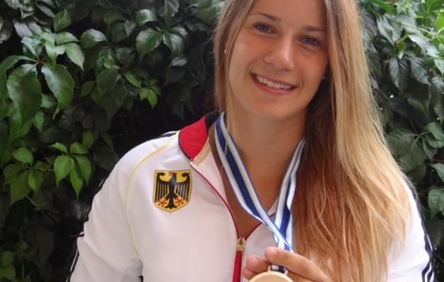 Überraschung: Eine Hallenserin erkämpft eine Bronzemedaille bei den Juniorenweltmeisterschaften im Kanu-Rennsport in Szeged