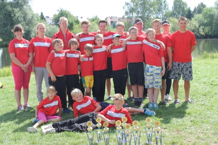 Sprintpokal in Jeßnitz am 12.07.14 auf der Mulde