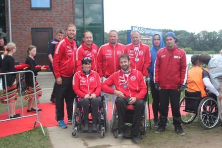 Erfolgreichstes Parakanuteam der Deutschen Meisterschaften im Kanurennsport kommt vom Halleschen Kanu-Club 54 e.V.