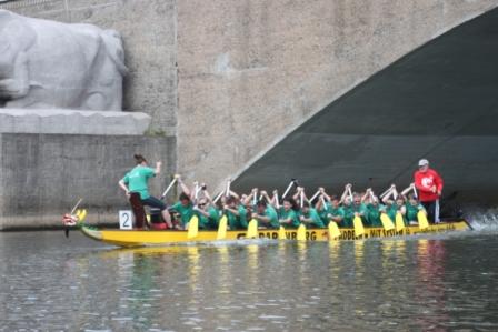 17. Hallesches Drachenbootrennen am 28.05.2016