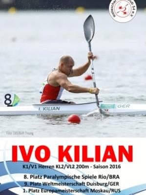 Neuer Kajak Einer für Ivo Kilian