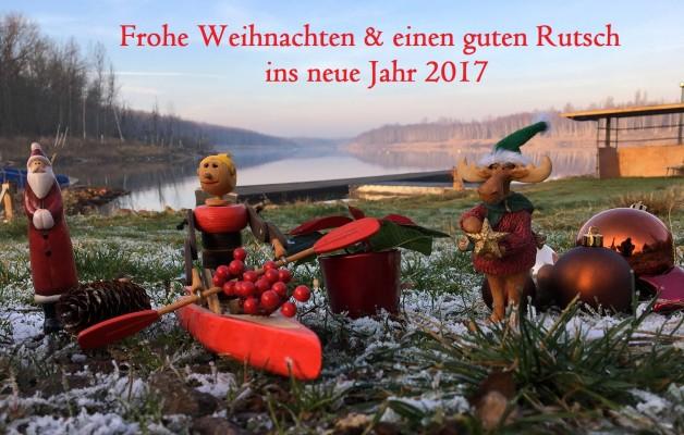 Frohes Fest, Weihnachtliche Grüße vom Osendorfer See