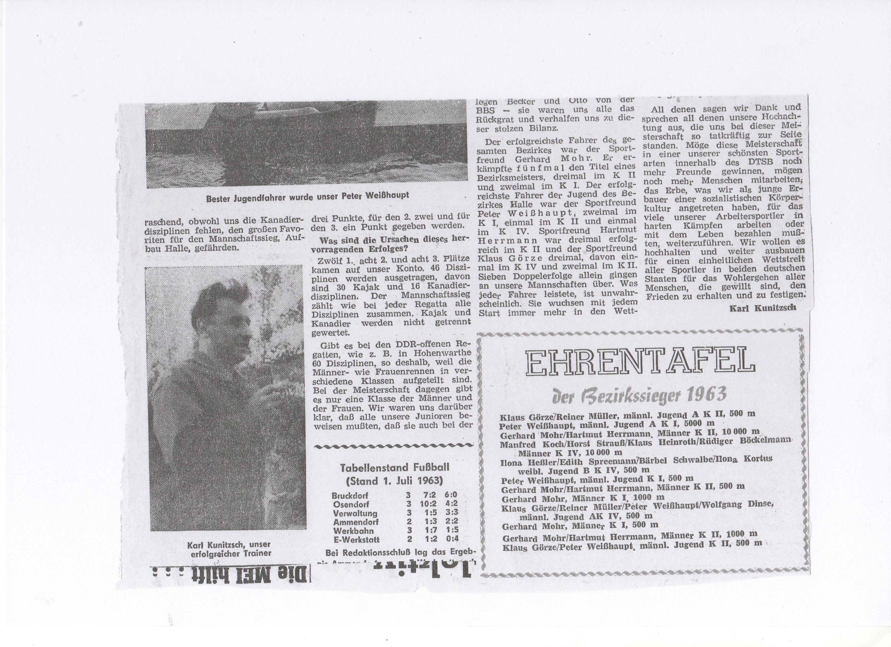 1963-06-24 Unsere Kanuten übertrafen sich selbst, Ehrentafel 2