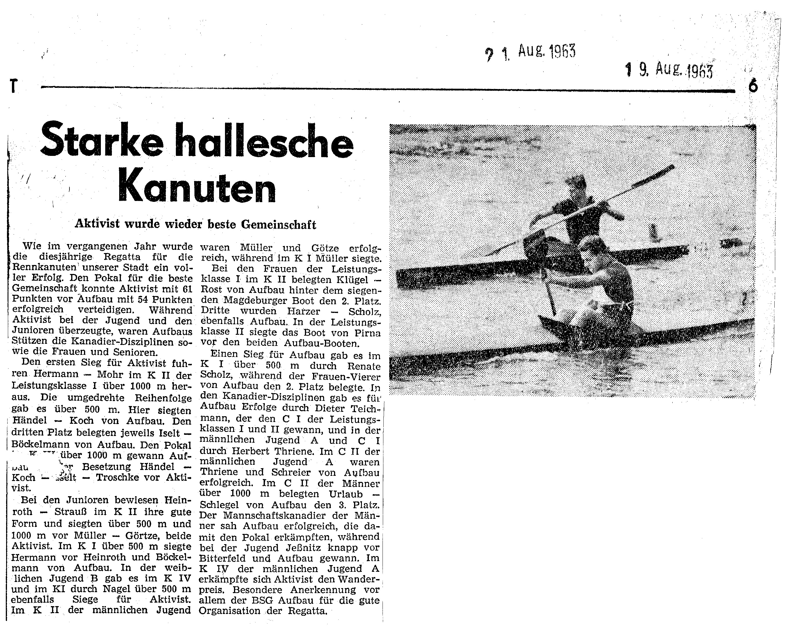 1963-08-19 Starke hallesche Kanuten