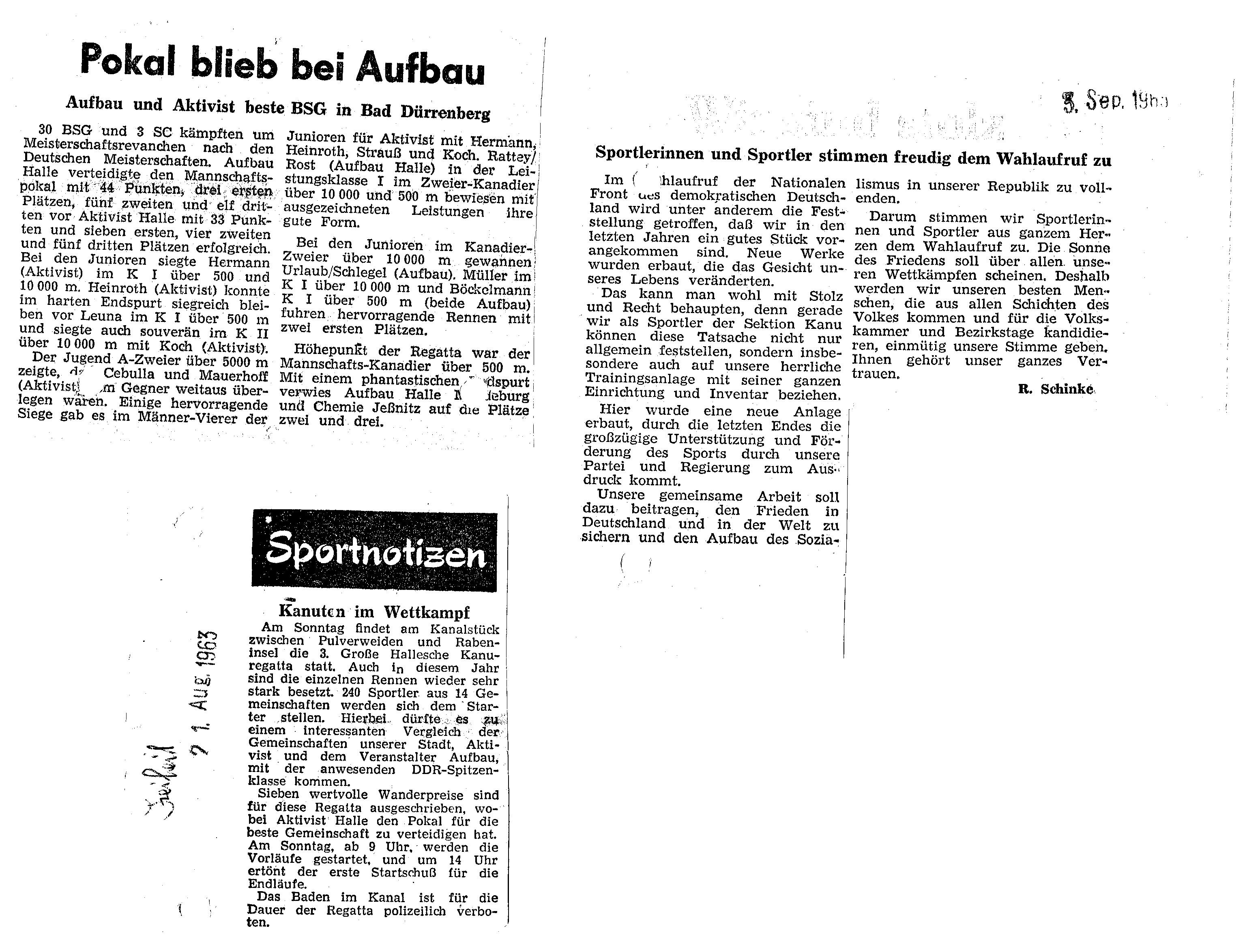 1963-08-21 Polaö blieb bei Aufbau