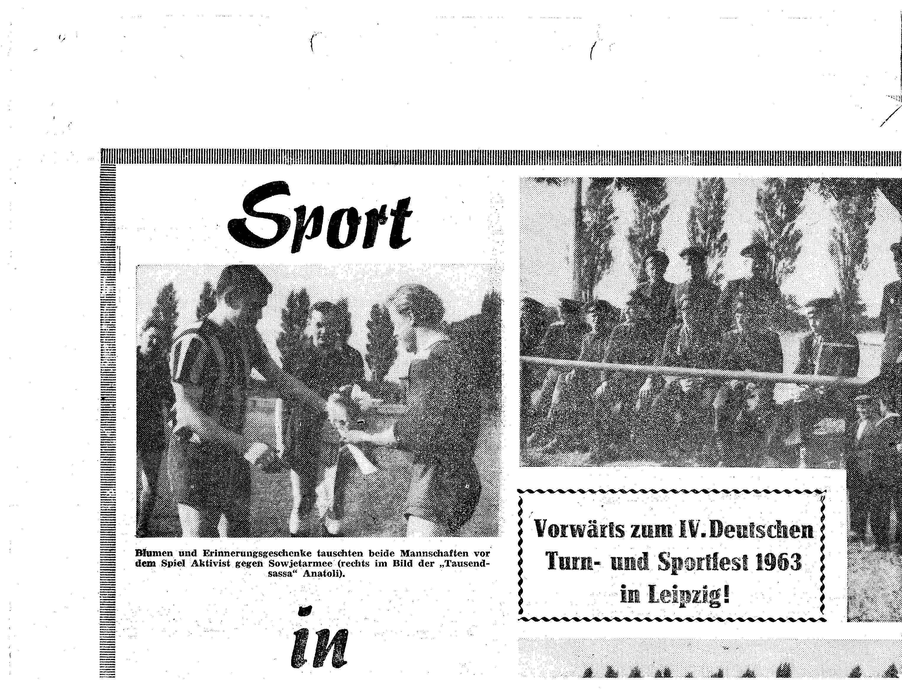 1963 Deutsches Turn und Sportfest Leipzig