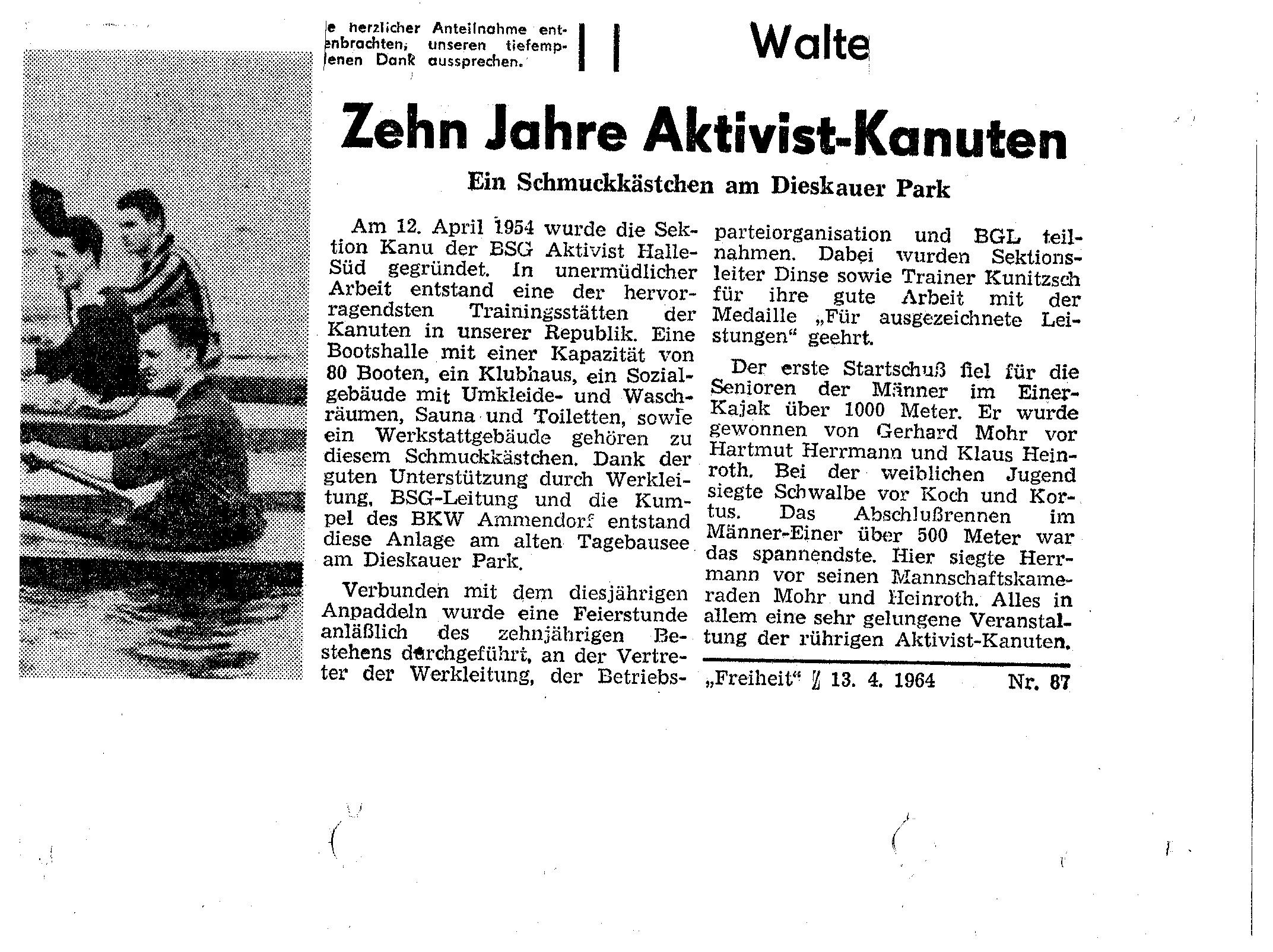 1964-04-13 Zehn Jahre Aktivist-Kanuten