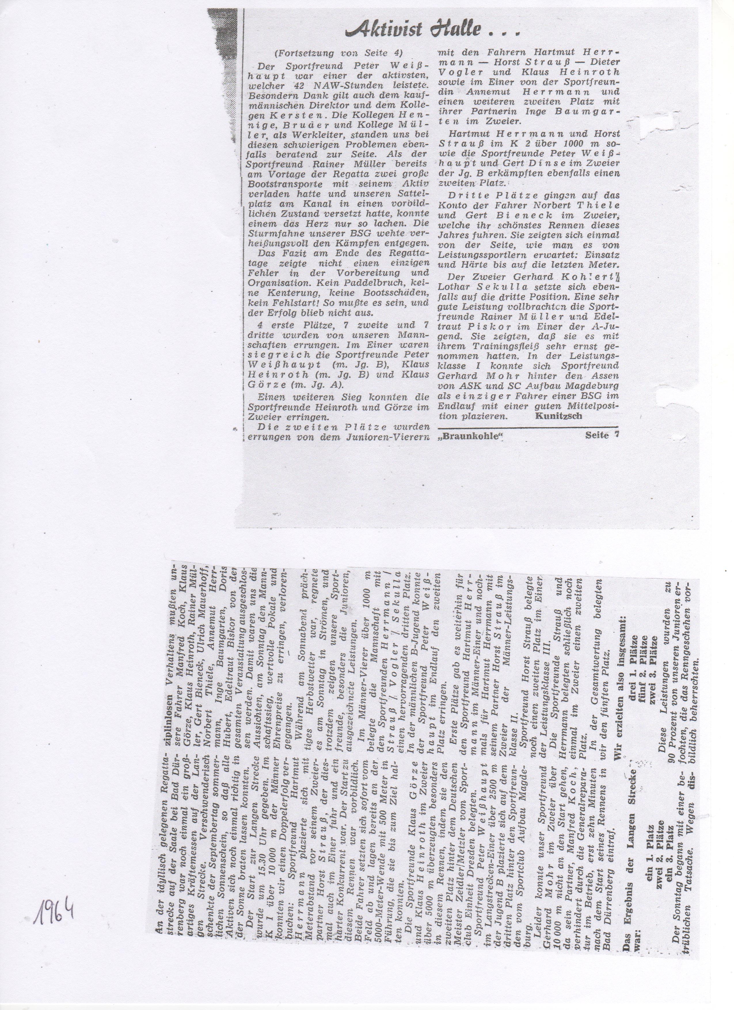 1964- Aktivist Halle