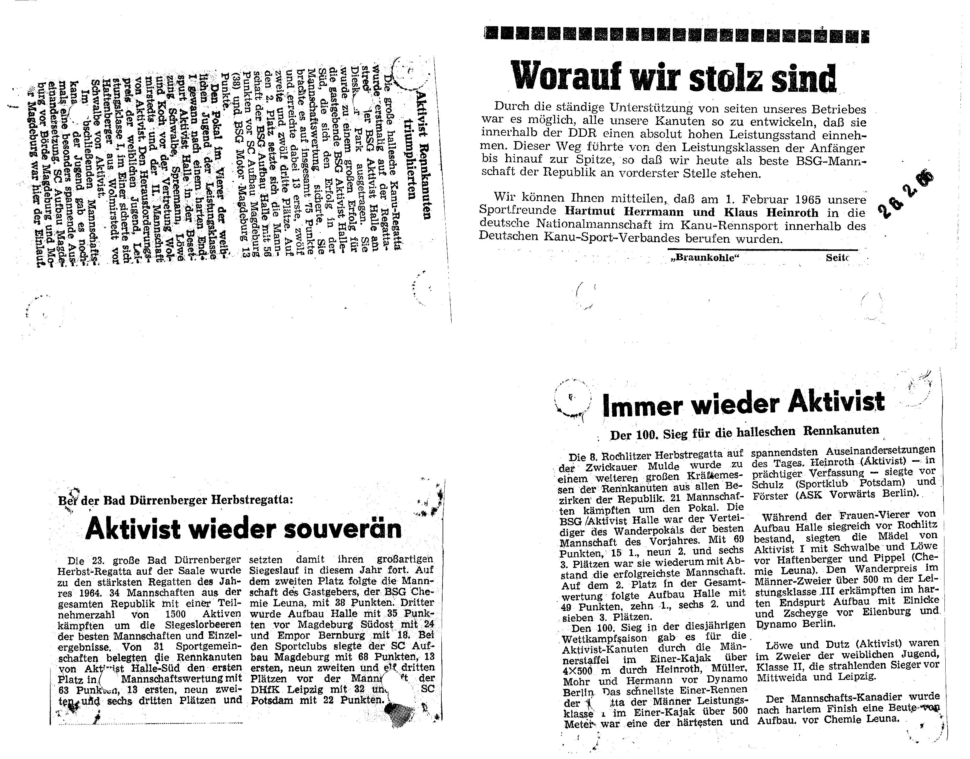 1965-02-26 Artikel Aktivist
