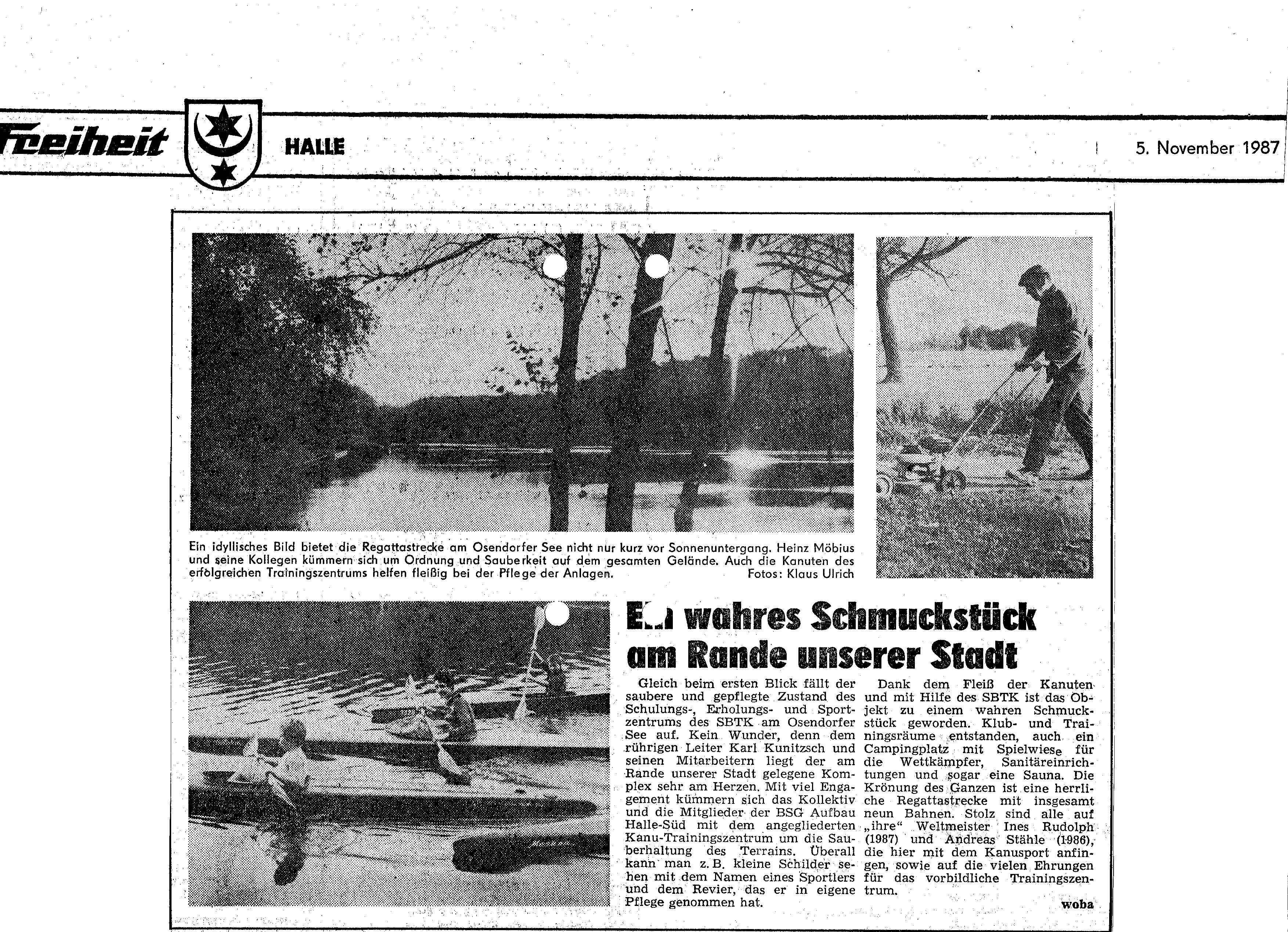 1987-011-5 Freiheit Ein wahres schmuckstück am Rande unsrer Stadt