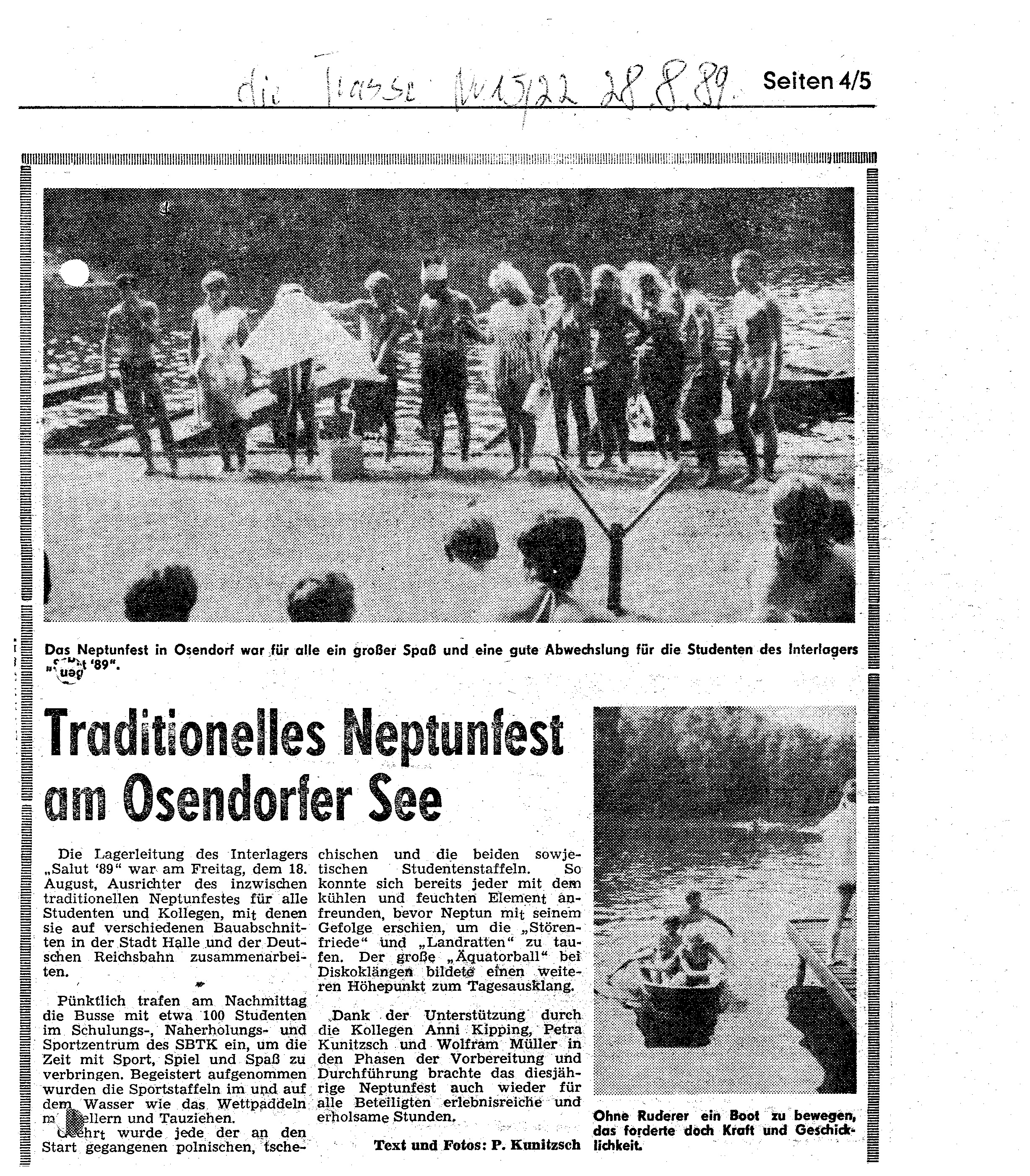 1989-08-28 Traditionelle Neptunfest am Osendorfer See