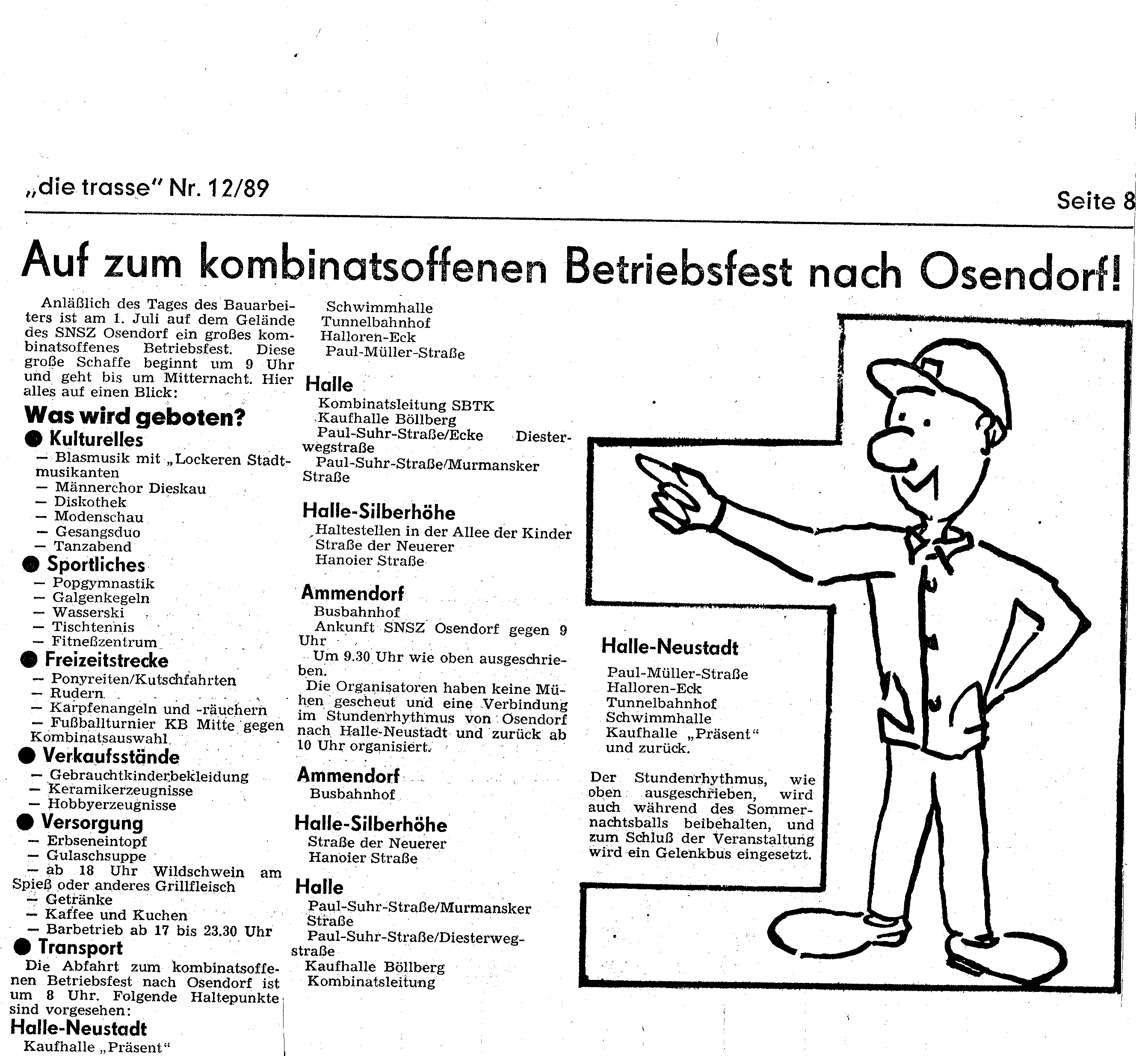 1989 Betriebsfest Osendorf