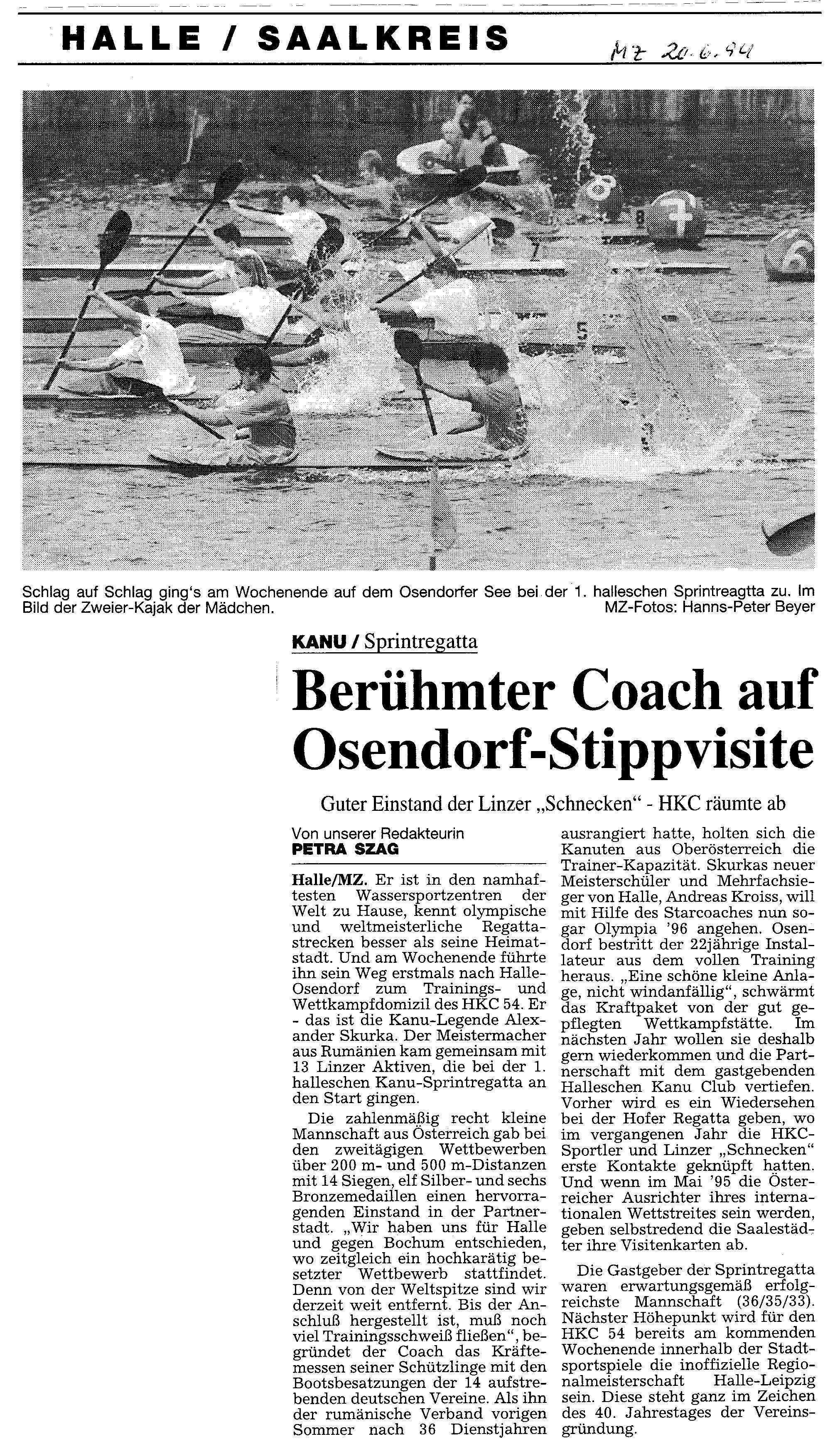 1994-06-20 MZ Berühmter Coach auf Osendorf-Stippvisite