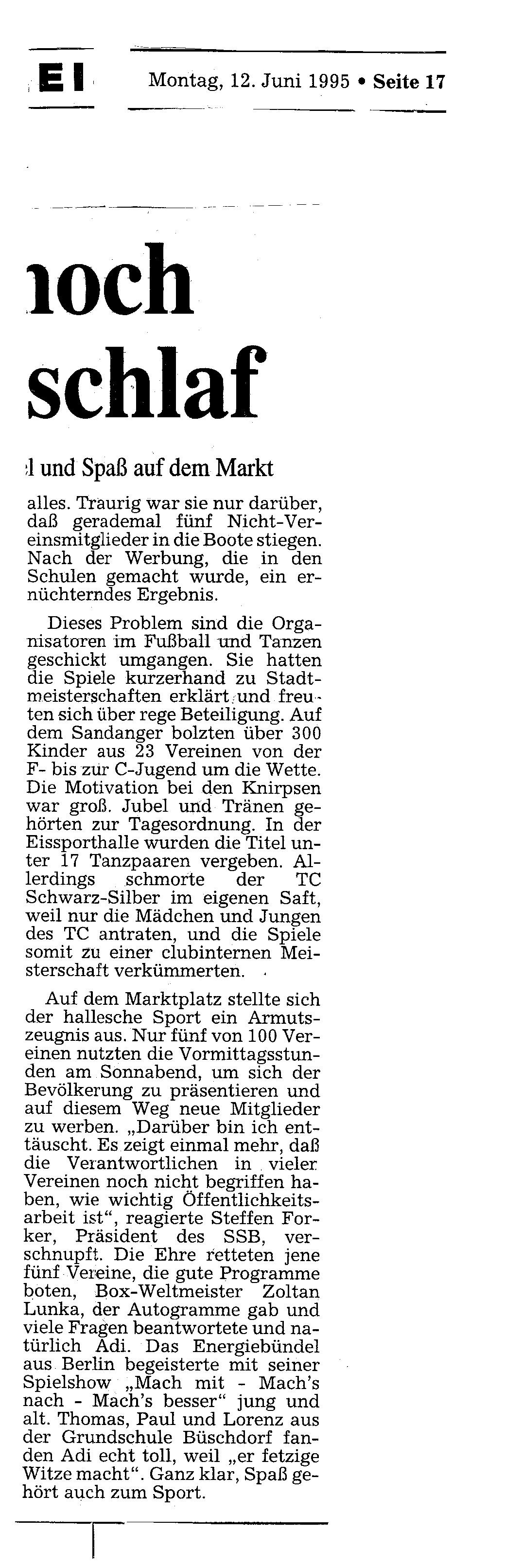1995-05-12 MZ Mehrzahl der Schulen noch immer im Dornröschenschlaf 2