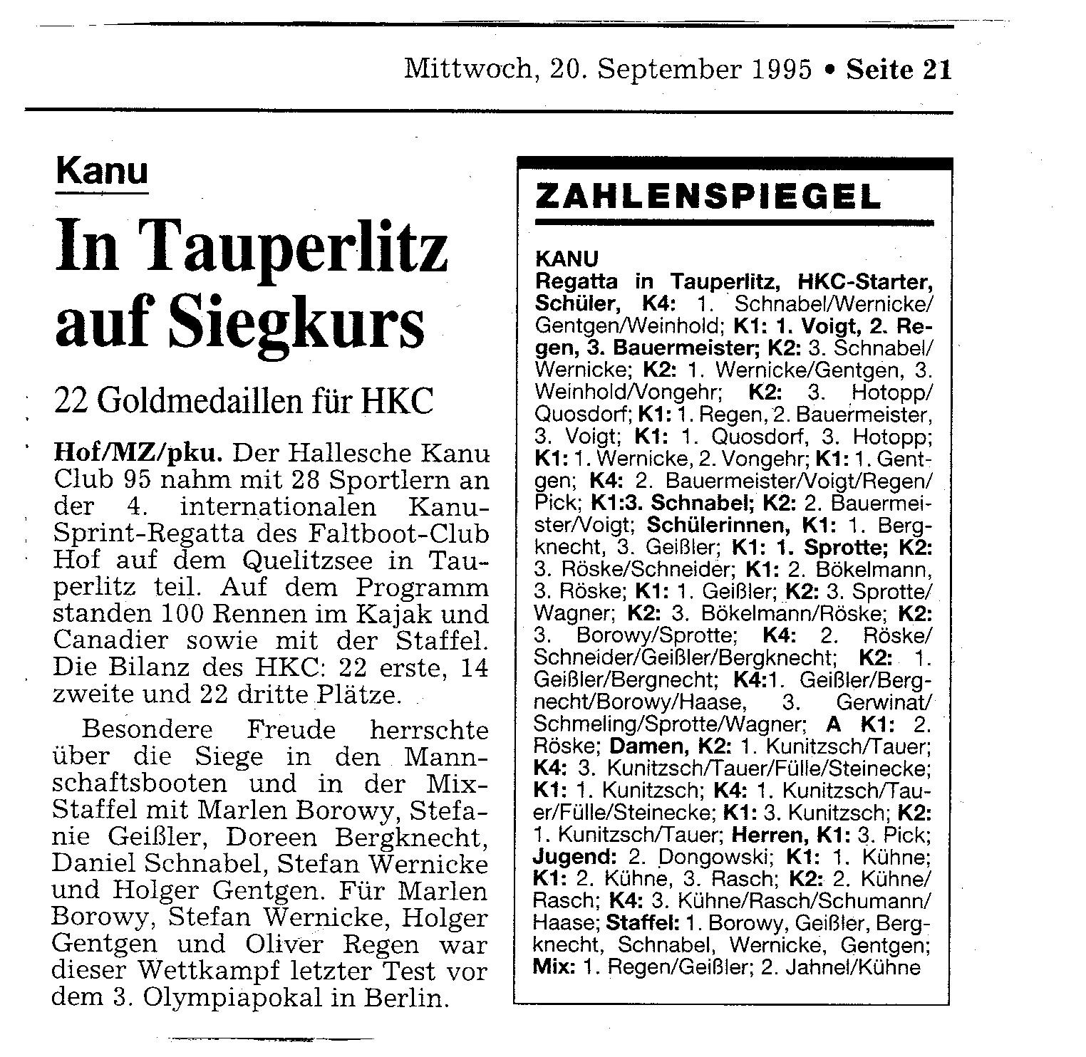 1995-09-20 MZ In Tauperlitz auf siegkurs