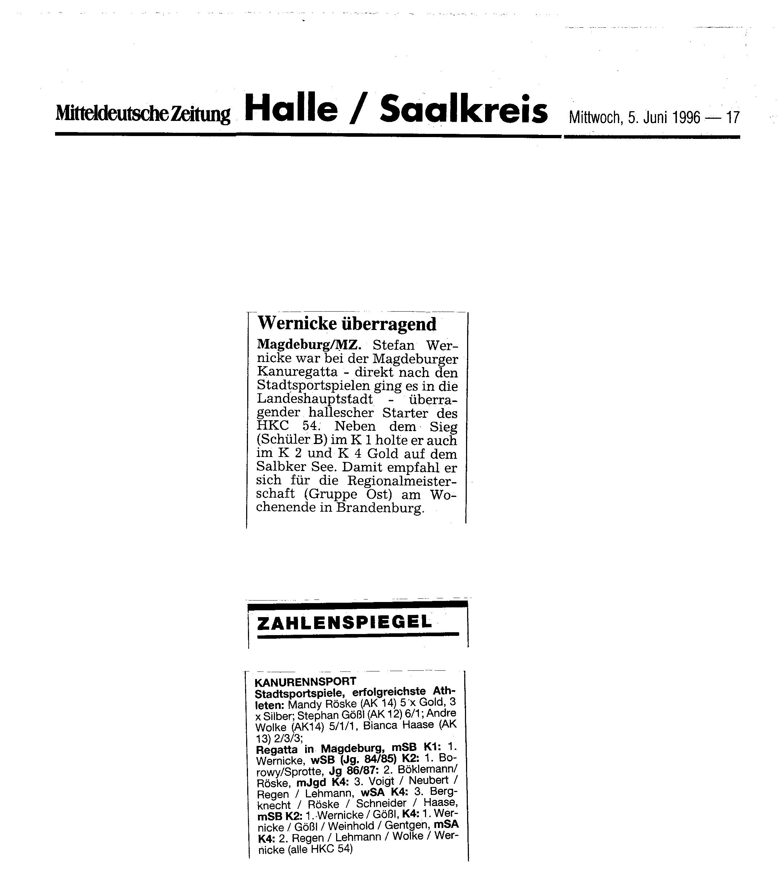 1996-06-05 MZ Wernicke überragend