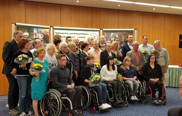 Sportlerehrung Behindertensportverband Sachsen-Anhalt