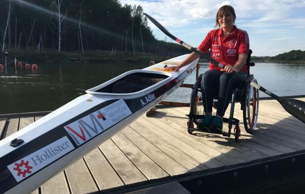 Anja Adler ist die Sportlerin des Jahres 2017 in Halle