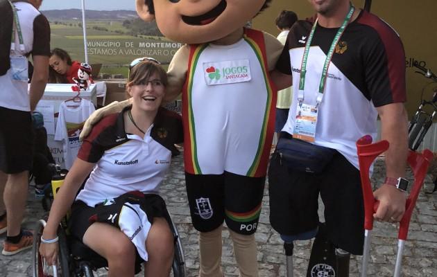 Finalteilnahmen von Ivo Kilian und Anja Adler bei der WM in Montemor