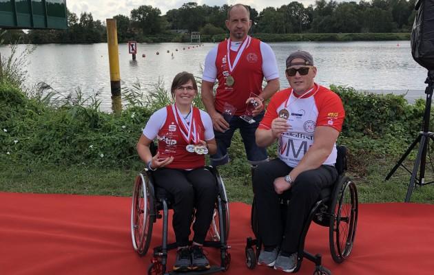 Parakanuten des HKC54 erfolgreich auf der Deutschen Meisterschaft in Hamburg