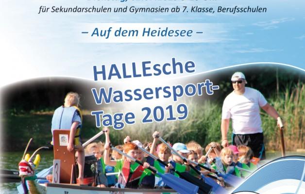 Einladung Sparkassencup der Schulen im Drachenboot am 1.-2.07.2019 auf dem Heidesee