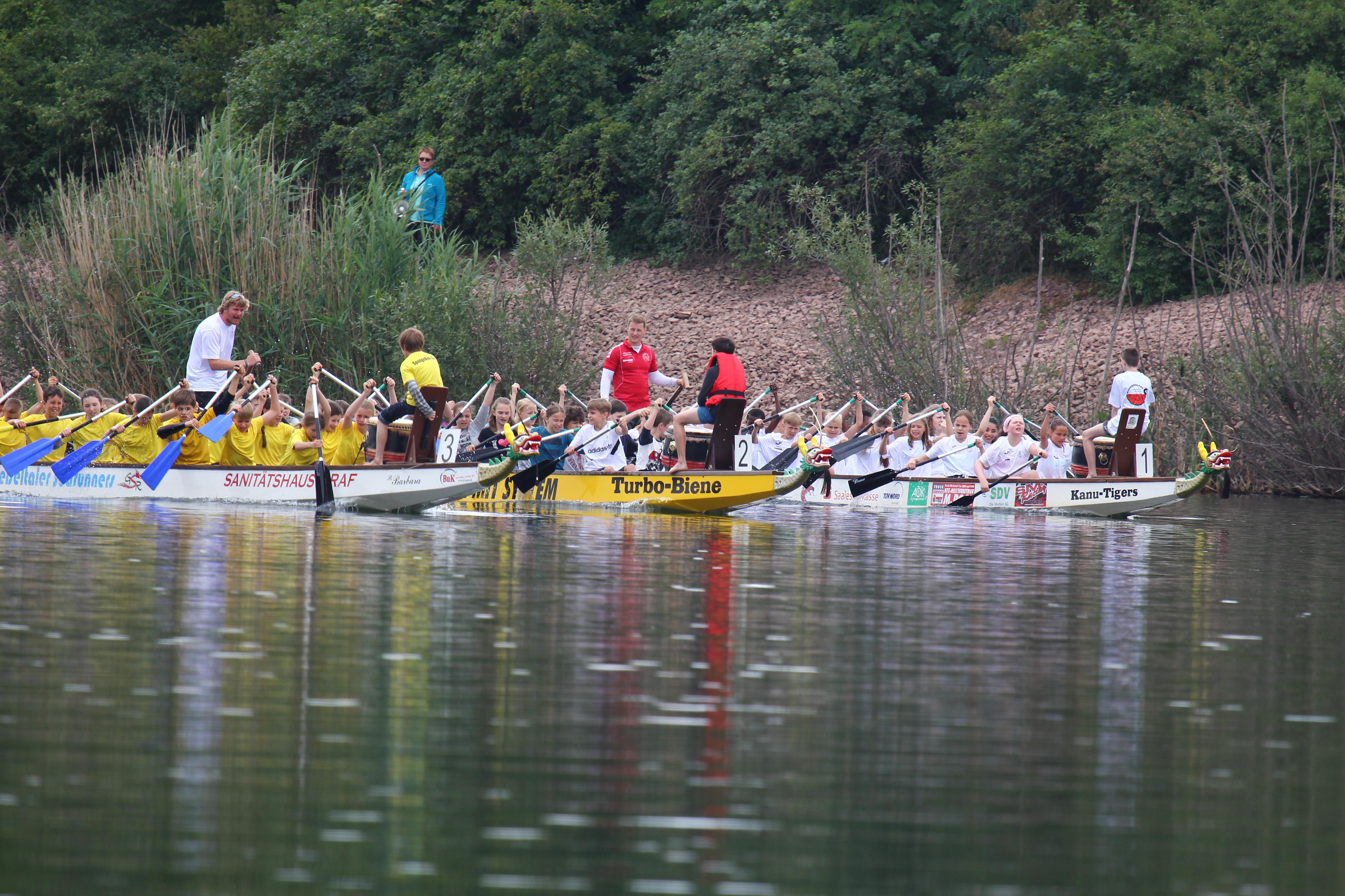 19. Hallesches Drachenbootrennen zum Hansefest