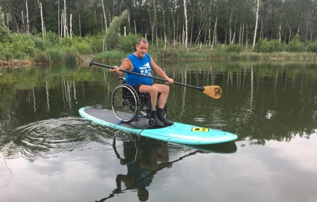 Rollstuhlstammtisch am Osendorfer See